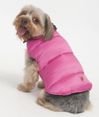 Reversible Arctic Coat Pink