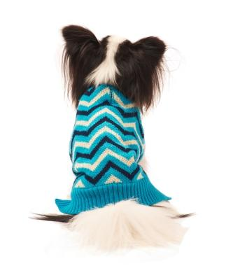 Chevron Sweater Blue