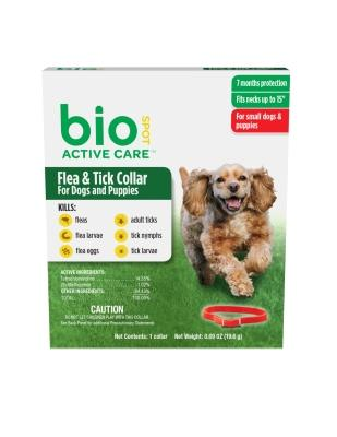 bio Spot Active Care Flea & Tick Collar Small Dog