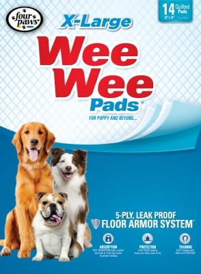 "Wee-Wee Extra Large Puppy Housebreaking Pads, 28"" x 34"""