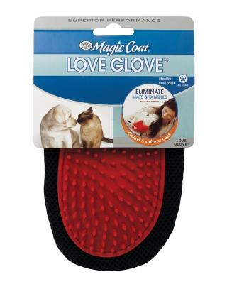 Magic Coat Love Glove Grooming Mitt for Dogs