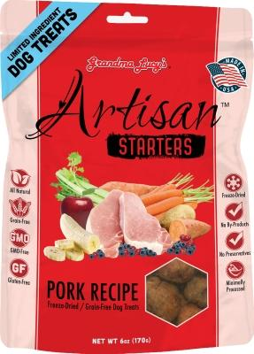 Artisan Starters Pork Freeze Dried Treat