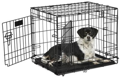 "24"" Contour Double Door Dog Crate"