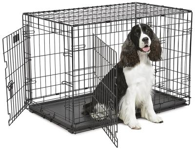 "36"" Contour Double Door Dog Crate"