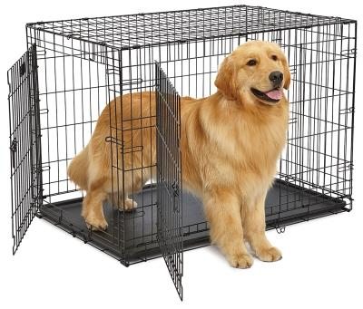 "42"" Contour Double Door Dog Crate"