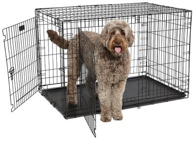 "48"" Contour Double Door Dog Crate"