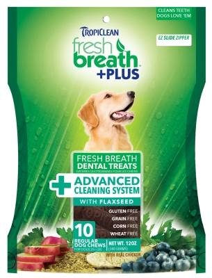 Fresh Breath Plus Dental Treats Advanced Cleaning