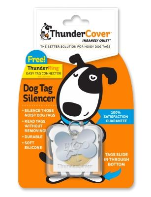 Thundercover Dog Tag Silencer With Free Thunderring