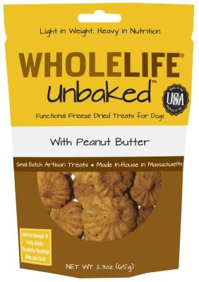 Unbaked Dog Freeze Dried Treat W/Peanut Butter