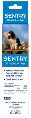Sentry 35 Day Dip For Dogs