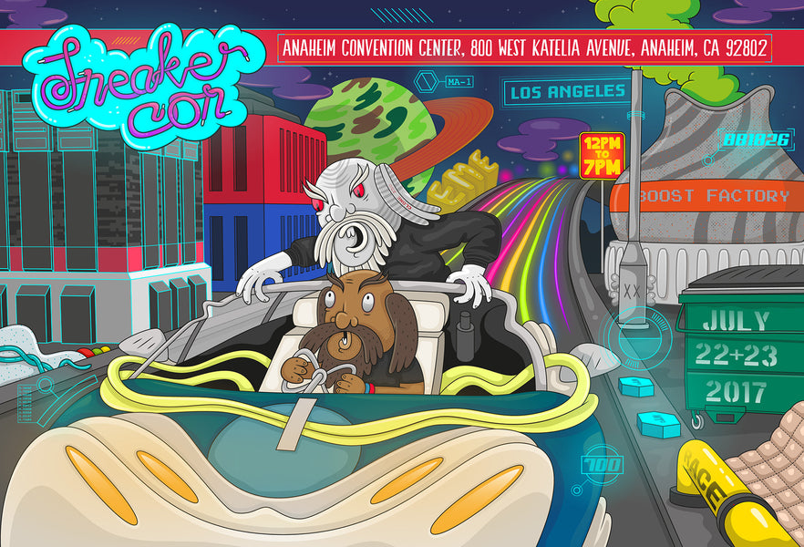 Sneakercon (July 22-23rd) - Los Angeles, Ca
