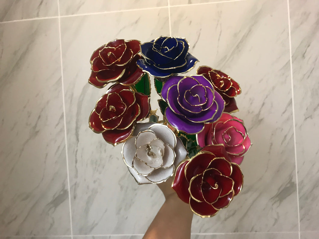TWO 24k TRIM ROSE