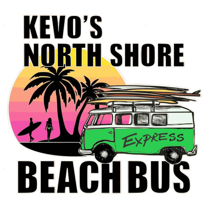 Oahu's #1 North Shore Tour - Kevo's Beach Bus