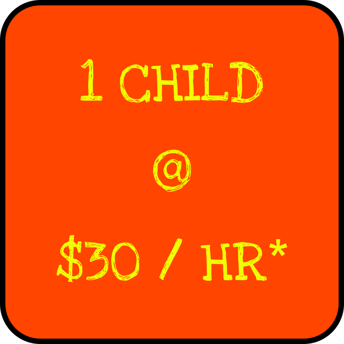1 Child - Holiday Rate