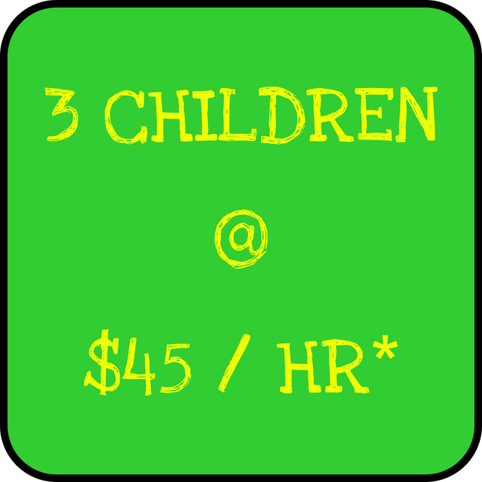 3 Children - Holiday Rate NEW