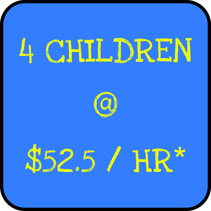 4 Children - Holiday Rate
