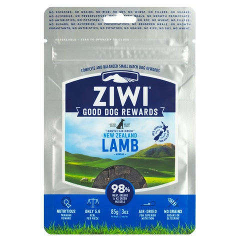 ZIWI PEAK 'GOOD DOG' TREATS: LAMB RECIPE
