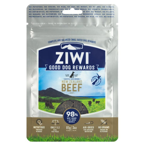 ZIWI PEAK 'GOOD DOG' TREATS: BEEF RECIPE