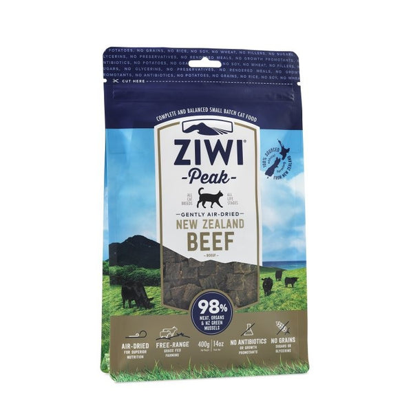 ZIWI PEAK : AIR-DRIED BEEF CAT