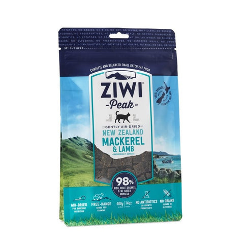 ZIWI PEAK : AIR-DRIED MACKEREL & LAMB CAT