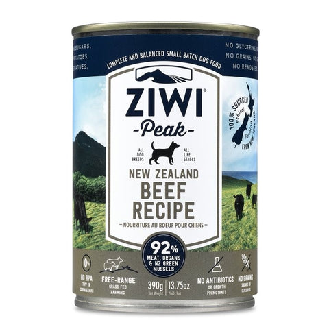 ZIWI PEAK CAN: BEEF RECIPE 12/CASE