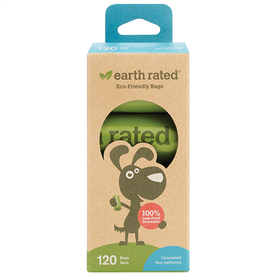 EARTH RATED POOP BAGS REFILL PACK UNSCENTED