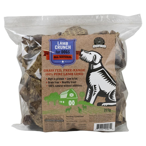 SILVER SPUR : LAMB LUNG CRUNCH 227G