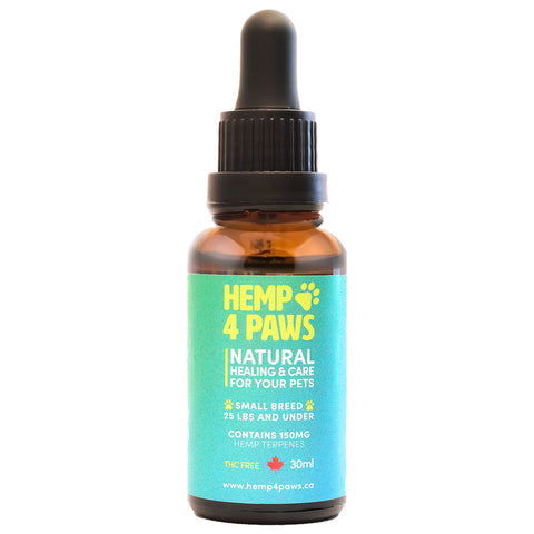 HEMP 4 PAWS :  Hemp Seed Oil Small Breed 150MG/30ML