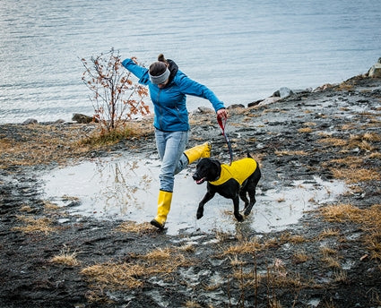 RC PET DELTA RAIN SLICKER LEMON