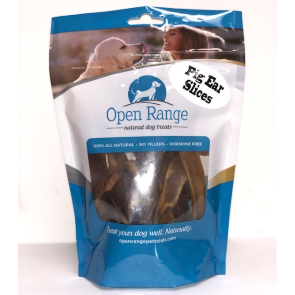 Open Range Pig Ear Slices 125 g