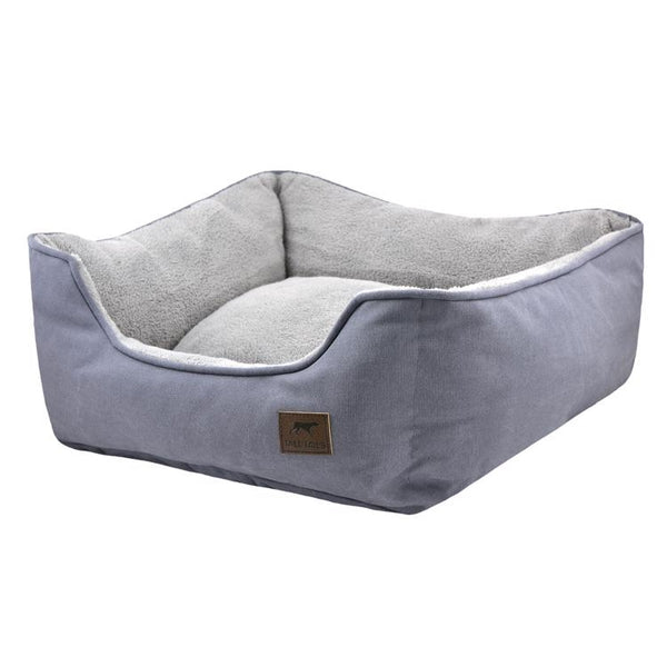 Tall Tails Bolster Bed Charcoal
