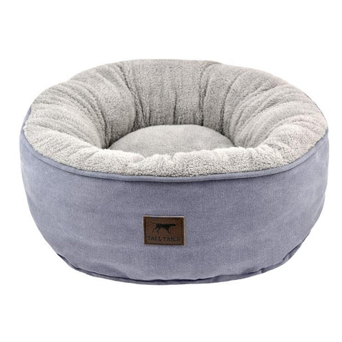Tall Tails Donut Bed Charcoal | SM 18x18x7