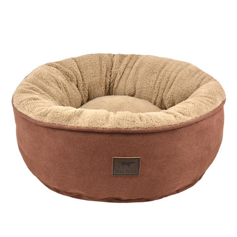 Tall Tails Donut Bed Brown | SM 18x18x7