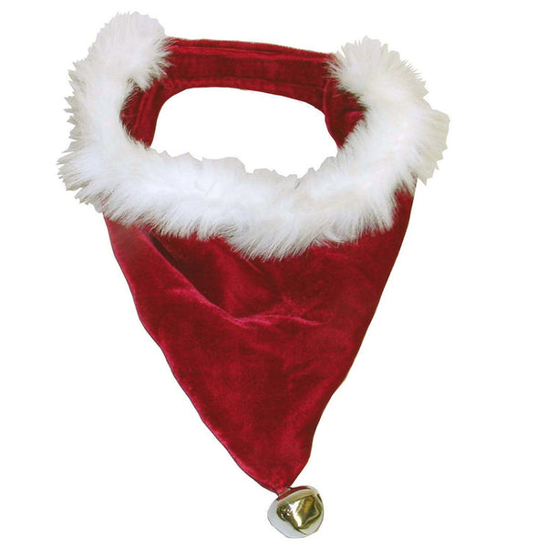 XMAS Bandana Santa Red & White