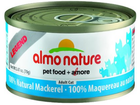 ALMO NATURE CAN: NATURAL MACKEREL 24/CASE