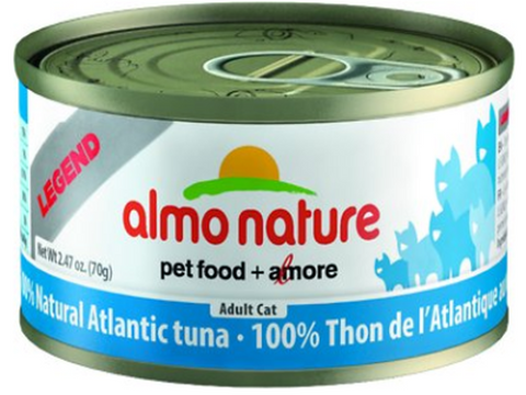 ALMO NATURE CAN: NATURAL ATLANTIC TUNA 24/CASE
