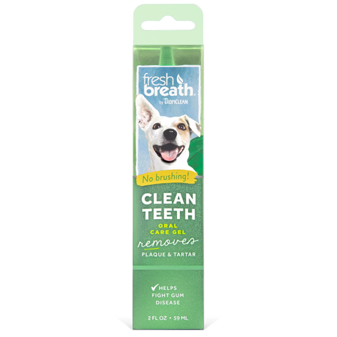 TropiClean Fresh Breath Clean Teeth Gel 2 oz