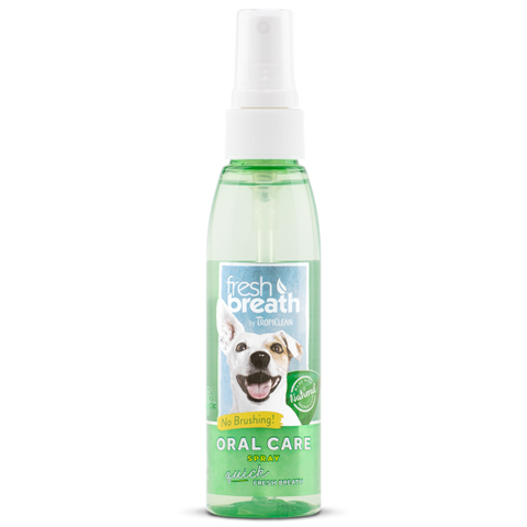 TropiClean Fresh Breath Oral Care Spray 4 oz
