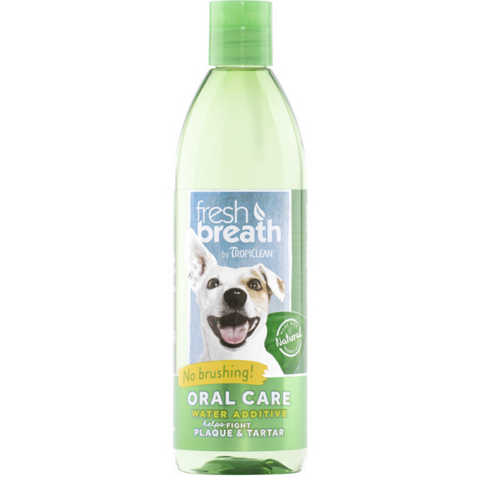 TropiClean Fresh Breath Water Additive 473 ml
