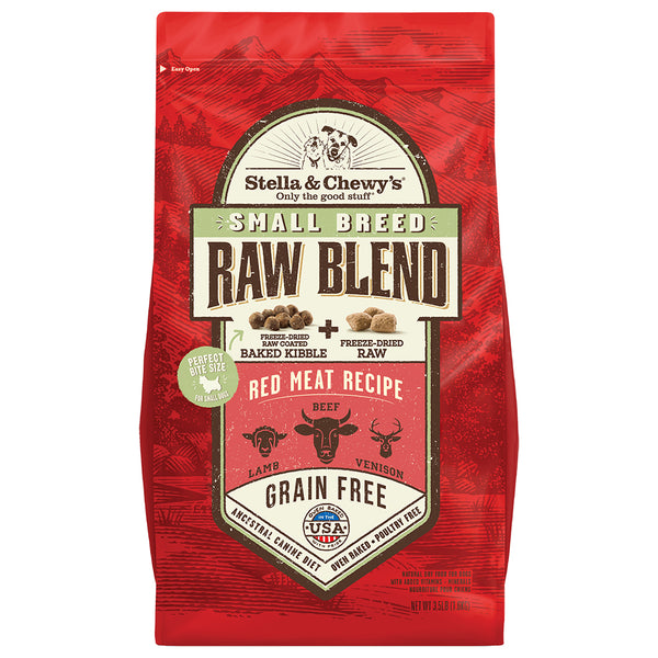 STELLA & CHEWY'S : RAW BLEND KIBBLE | RED MEAT SM BREED