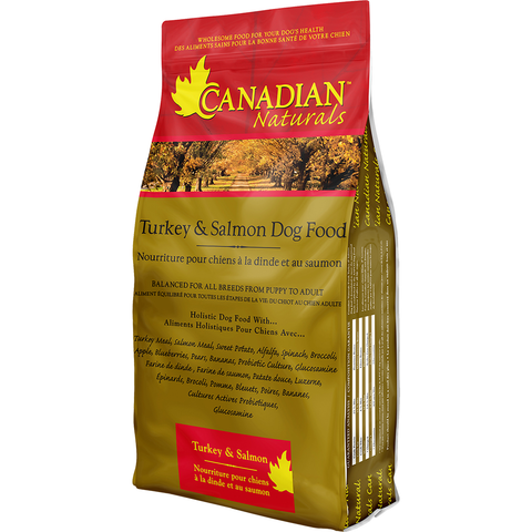 CANADIAN NATURALS TURKEY & SALMON DOG FOOD