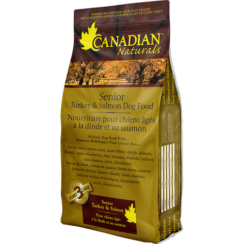 CANADIAN NATURALS SENIOR TURKEY & SALMON DOG FOOD