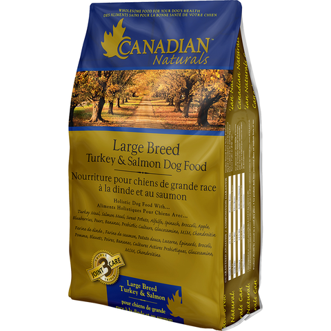 CANADIAN NATURALS LARGE BREED TURKEY & SALMON DOG FOOD
