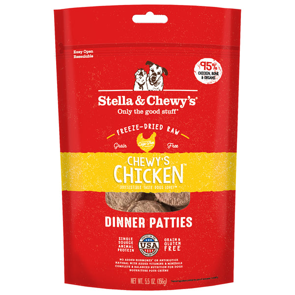 STELLA & CHEWY'S CHEWY'S CHICKEN DINNER PATTIES