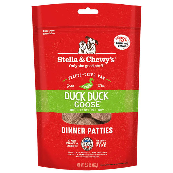 STELLA & CHEWY'S DUCK DUCK GOOSE DINNER PATTIES