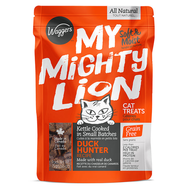 WAGGERS MY MIGHTY LION DUCK HUNTER RECIPE