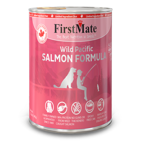 FIRSTMATE CAN: SALMON FORMULA 12/CASE