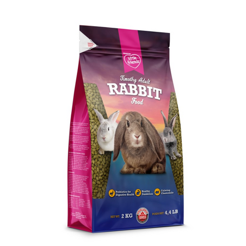 MARTIN LITTLE FRIENDS TIMOTHY ADULT RABBIT FOOD