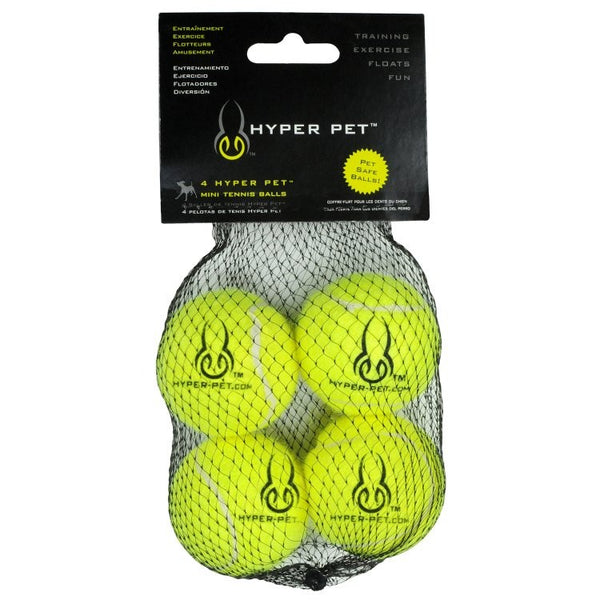 Hyper 4 Pack Mini Balls-Green