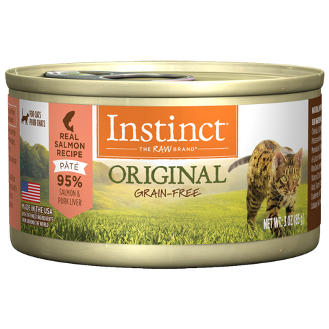 NATURE'S VARIETY INSTINCT CAN: SALMON FORMULA 24/CASE